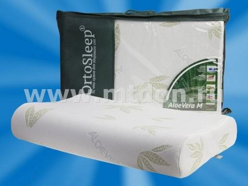 Ортопедическая подушка OrtoSleep Aloe Vera