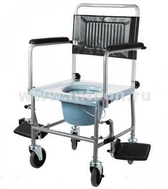 Кресло-каталка с туалетным устройством W2