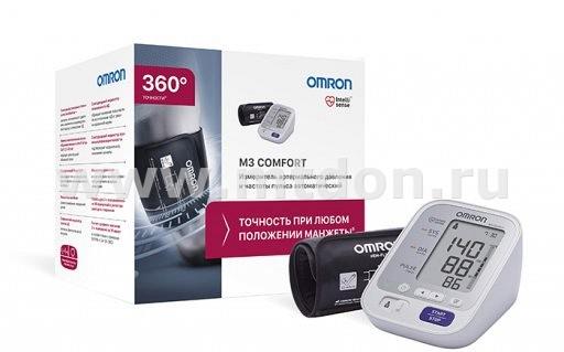 тонометр OMRON M3 Comfort с манжетой Intelli Wrap