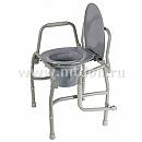 Кресло-туалет с откидывающимися поручнями