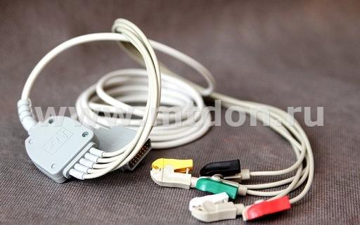 Кабель электродный ЭКГ 5