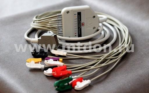 Кабель электродный ЭКГ 10