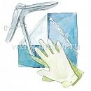 Набор гинекологический одноразовый стерильный НГО-3 «Гекса»