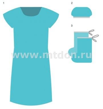 Комплект белья для пациента КБР-15