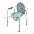 Кресло-туалет  WC Econom (стальной)